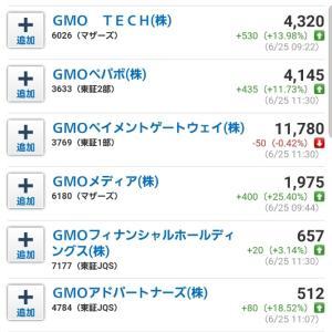 GMO祭りがすごい❗本日も優待と配当たくさん♪