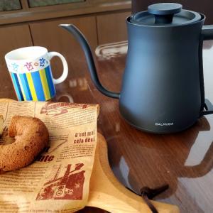 キッチン家電ブラックマット化計画♪BALMUDA The Pot