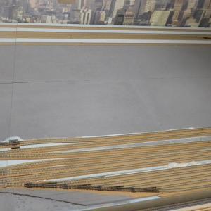 川崎駅東口エリアとレイアウト建設予定地のサイズを比較してみる