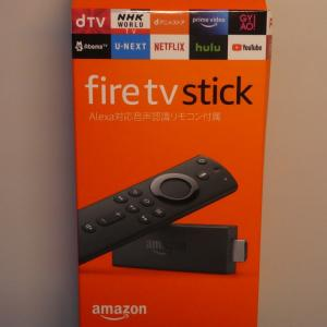 Amazon fire tv stickを買ってみた