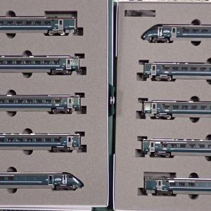 KATO Hitachi Class 800/0 GWR 入線