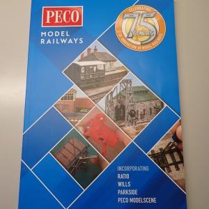 PECOカタログを買って、レールの配線を考える