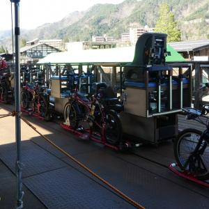 奥飛騨・神岡のレールマウンテンバイク ガッタンゴーに乗ってみた(2)