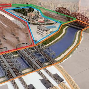 鉄道模型レイアウト作り直し範囲の検討