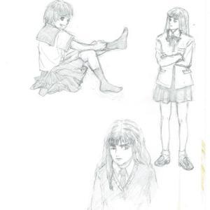 お絵描き練習中