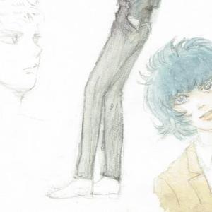 【塗り】お絵描き練習中【水彩】