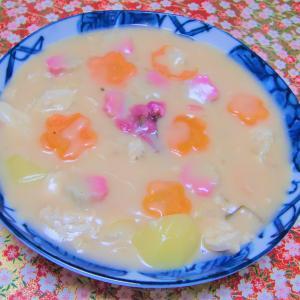 野菜ソムリエアワード 100皿シチュー 43皿目 さくら香るクリームシチュー