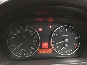 BMW 325iツーリング E91 ブレーキパッド、パッドセンサー交換