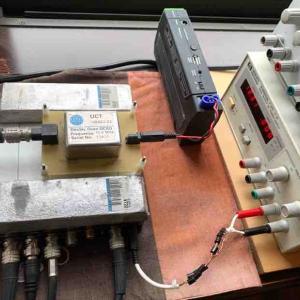 脅威的!ワードクロックの電源フィルター改良(ファインメット+コンデンサーアレー)