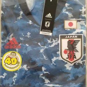当選!ガリガリ君×アディダス サッカー日本代表 2020ホームレプリカユニフォーム