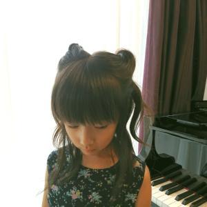 ピアノの発表会 女の子ヘアスタイル プリキュア ルールー風