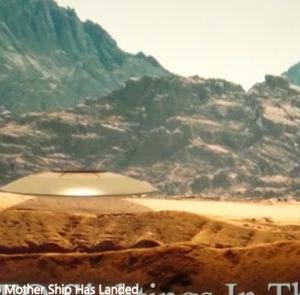 変わった形のUFO 別編 (FA45:砂漠の円盤型UFO)