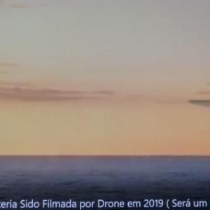 変わった形のUFO 別編 (GA 31:地中海の巨大UFO)