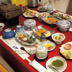 素朴で美味しい田舎料理【お夕飯】 ☆ 沢渡温泉まるほん旅館