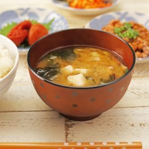 ◆朝の味噌汁と梅干し