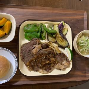 9.10.2021 夕飯はリブロースステーキ&今日のレイちゃん