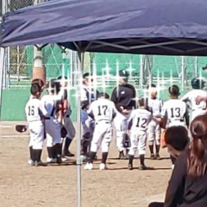 甥っ子が野球始めました!
