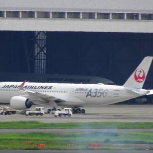 JAL 国内線 A350 JA02XJ 慣熟飛行日程(1) 発表