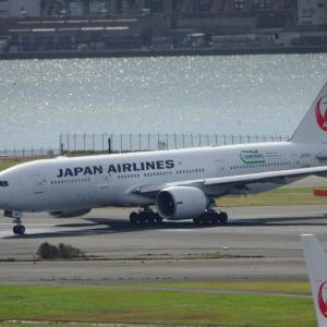 JAL B777-200ER JA705J 退役 離日