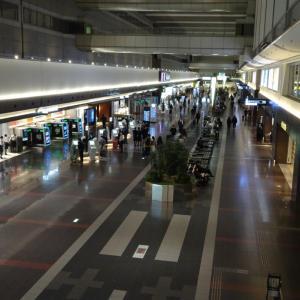 JAL 羽田空港 北ウイング施設 クローズアナウンス