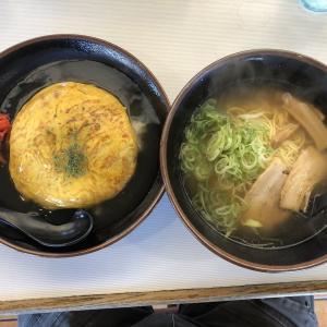 天津飯セット あさひ寿
