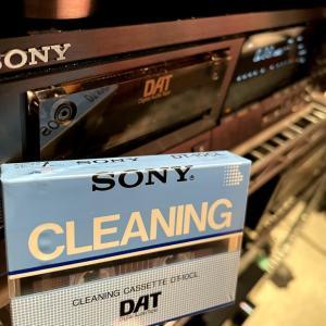SONY DAT クリーニングテープ(なぜ今?)