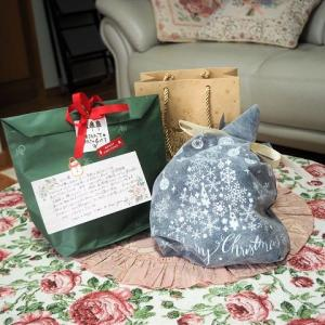 クリスマスプレゼントを頂きました^^ 寄せ植え作り 素敵色のネメシアと、ぴょんぴょん遊ぶうさぎさん