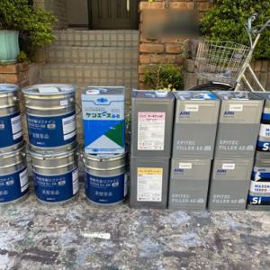 屋根外壁塗装、塗装前にもいろいろ作業がございます〜現場職人日記〜