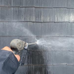 松戸市の外壁塗装 塗装工事の現場より〜高圧洗浄〜