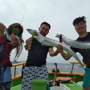 東京湾タチウオ釣行記@渡辺釣船店