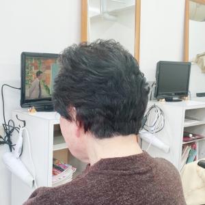 80代 ショートヘア