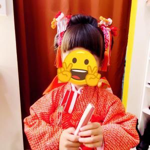 七五三 新日本髪 和髪 ヘアアップ