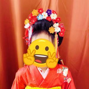 七五三 新日本髪 日本髪