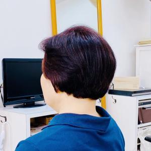 60代 ショートヘア