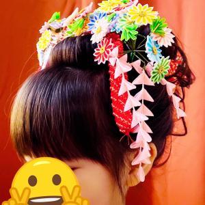七五三 着付け 新日本髪