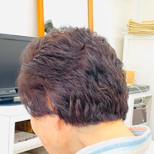 70代 ショートヘア