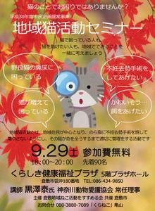 #倉敷 #地域猫 セミナー ●くらねこ