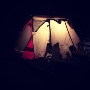 北山キャンプ場で父子キャンプ!