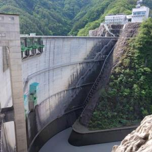 小渋ダム (長野県中川村・松川町) 貯水量が諏訪湖とほぼ同じ!