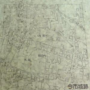 今市城跡 (奈良県奈良市) 外堀が遊歩道