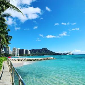 ハワイに到着