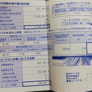 46歳無職の年金事情を公開します。【日本年金機構からねんきん定期便】