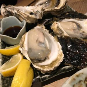 この時期にこんな美味い牡蠣が食えるとは  牡蠣入レ時  中目黒にて