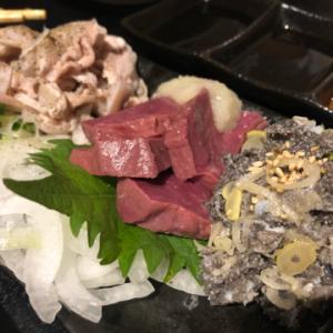 どれもこれもクオリティ高めのもつ焼き屋  楓  錦糸町にて