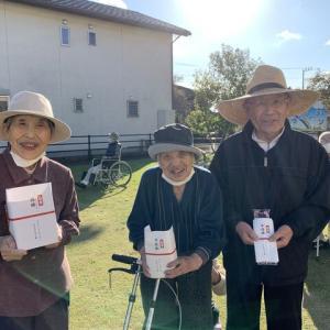 グランドゴルフ大会最終日