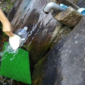 秋田の石巻清水