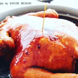 豪華 丸鶏 料理。 料理研究家 指宿さゆり