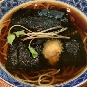 蕎麦グルメ 阪急神戸店 旧そごう神戸『やぶそば』花巻そば。 料理研究家 指宿さゆり