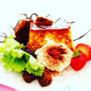 現代料理研究家コースの定番レシピ『自家製バニラプティング』 料理研究家 指宿さゆり