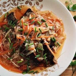 これは食べたい!美味しい揚げ魚のとろーり野菜あんかけ。 料理研究家 指宿さゆり